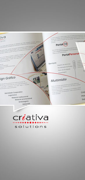 Promocionais - Folder Criativa