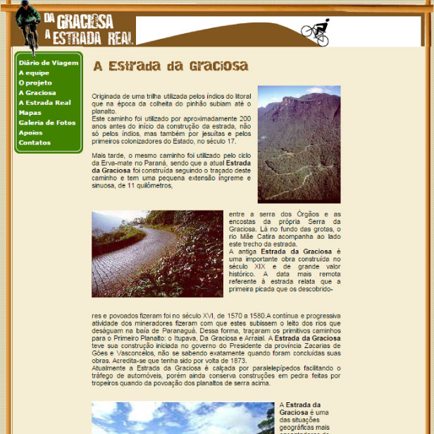 Digitais - Site da Graciosa a Estrada Real