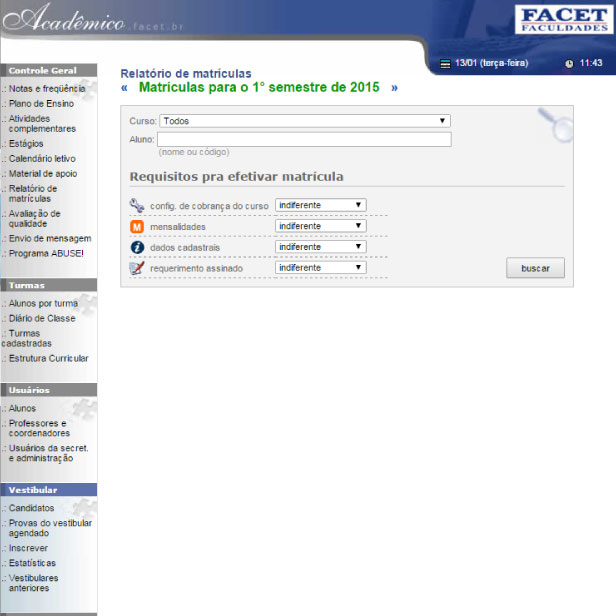 Digitais - Site FACET Faculdades