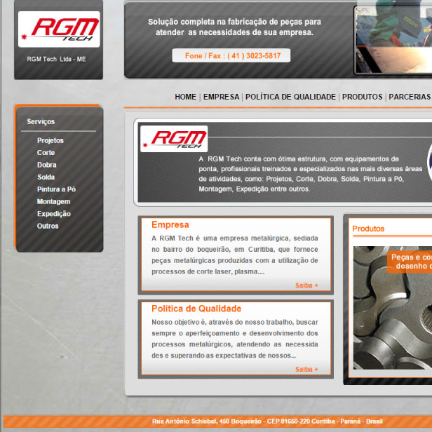 Digitais - Site RGM Tech